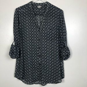 Kut From The Kloth Button Down Shirt Large